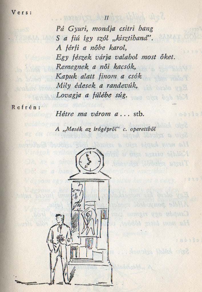 Táncdalok és sanzonok, 1958-2