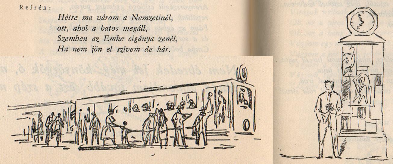 Táncdalok és sanzonok, 1958m