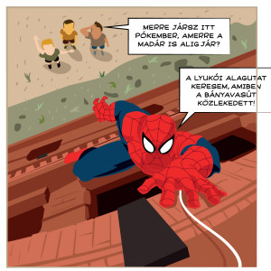 SPIDERMAN strip nyomdai BK-1